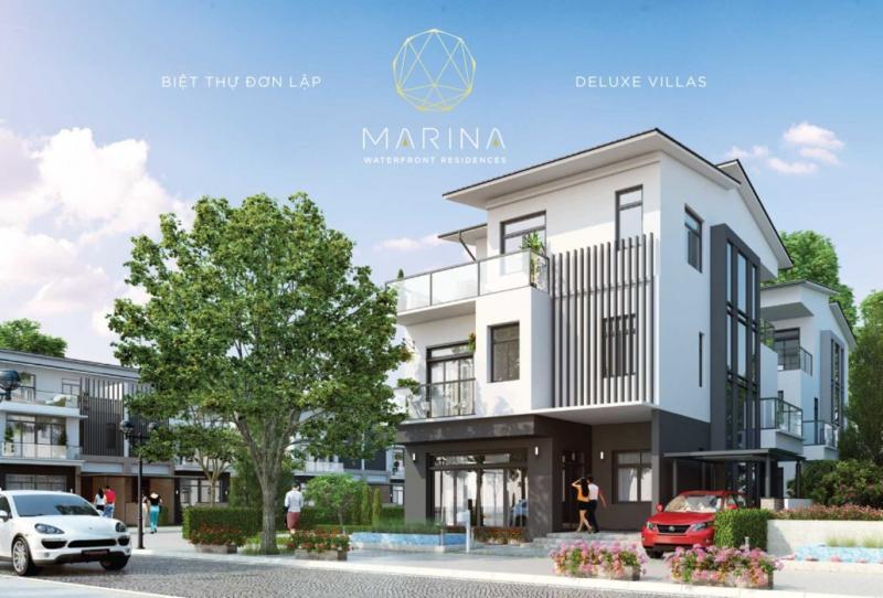 Biệt thự đơn lập Marina Ecopark