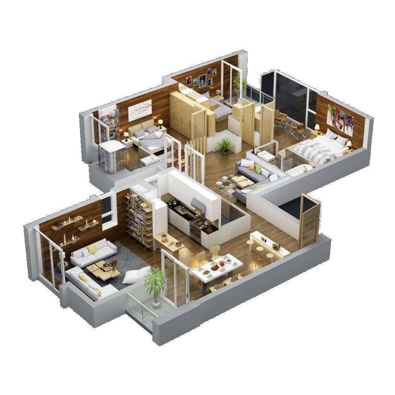 Căn hộ chung cư Rừng Cọ Ecopark - Sky villa