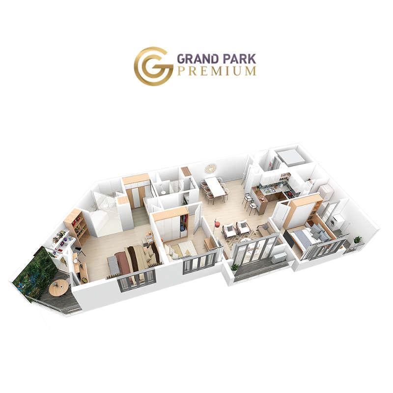 Căn hộ Grand Park Premium 100+