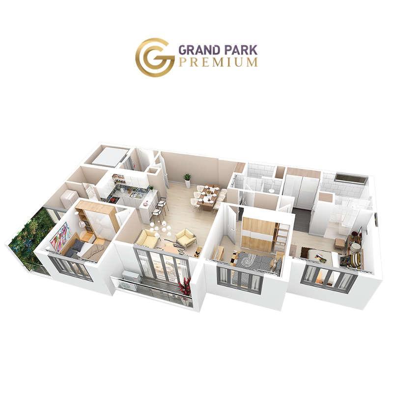 Căn hộ Grand Park Premium 100