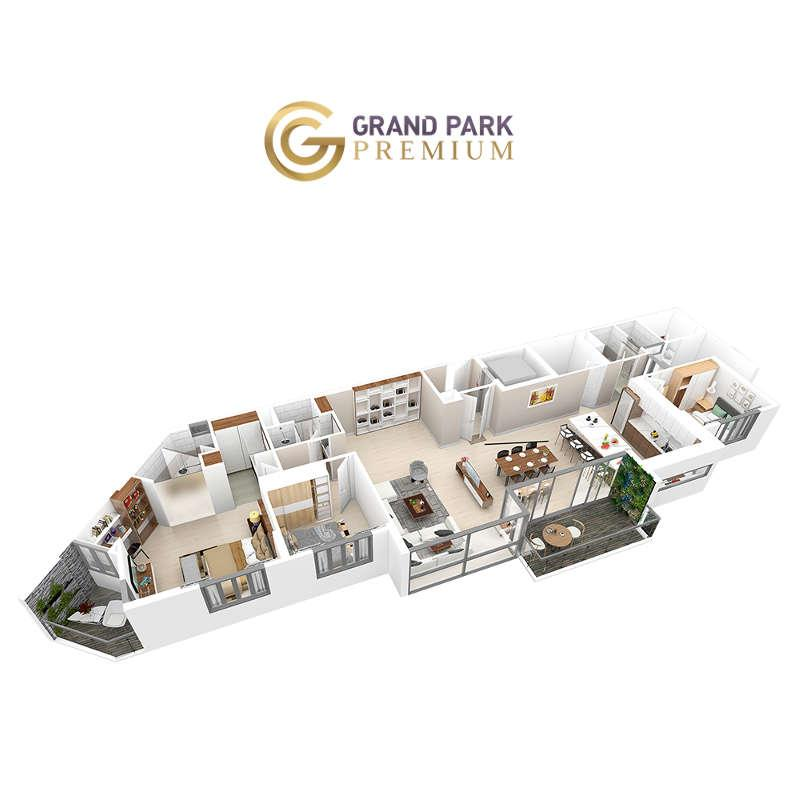 Căn hộ Grand Park Premium 150+
