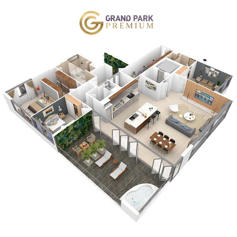 Căn hộ Grand Park Premium 200+