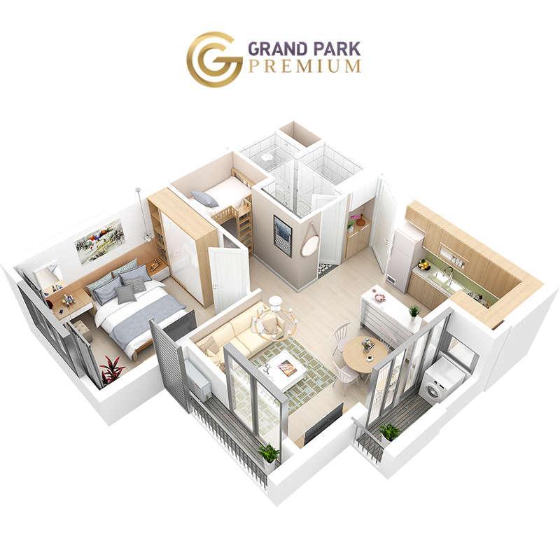 Căn hộ Grand Park Premium 46