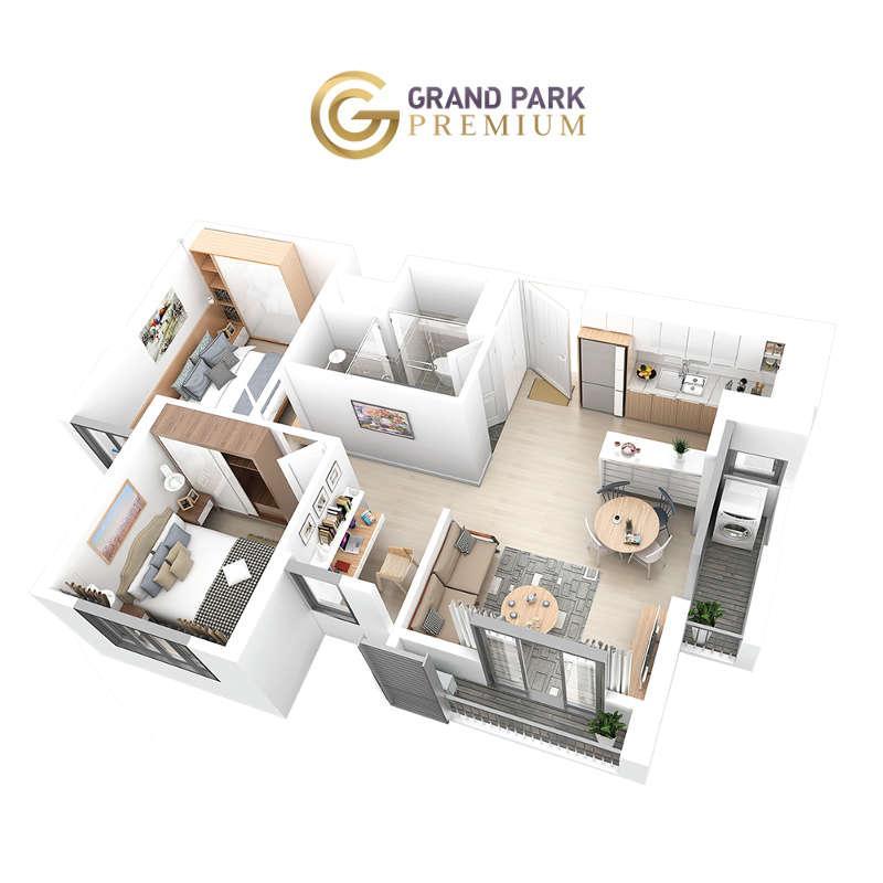 Căn hộ Grand Park Premium 58