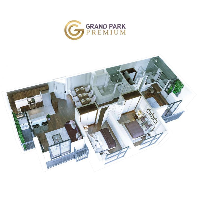 Căn hộ Grand Park Premium 90