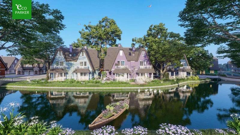 Biệt thự song lập Làng Hà Lan Ecopark