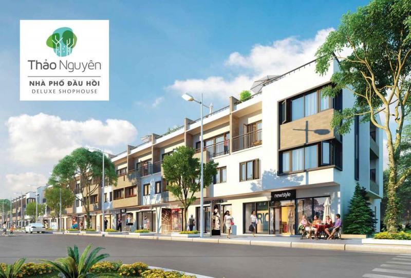 Nhà phố thương mại đầu hồi Thảo Nguyên Ecopark