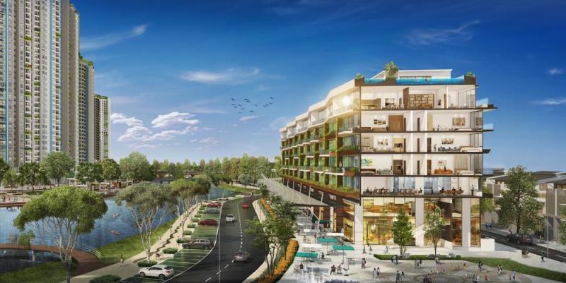 Nhà phố điển hình Marina Arc Ecopark