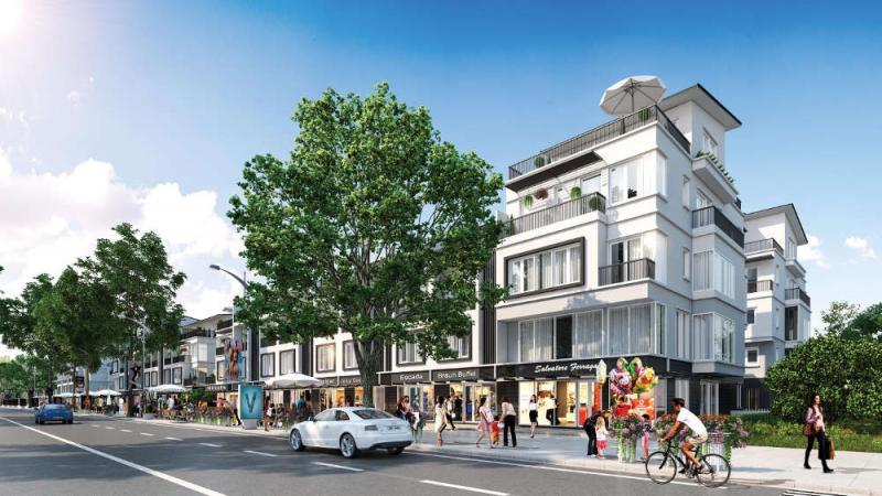 Nhà phố thương mại điển hình Thuỷ Nguyên Ecopark